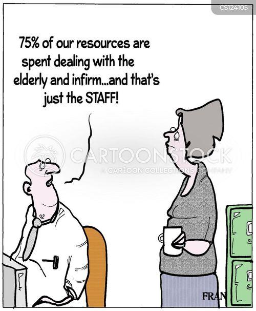 public service cartoon