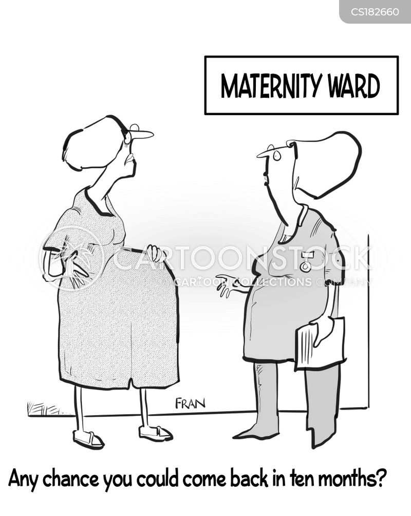 midwives cartoon