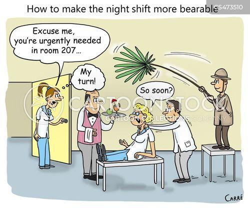 difficult jobs cartoon