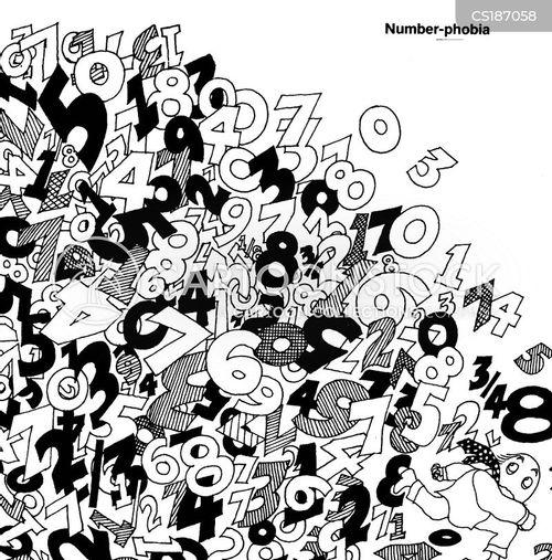 numeral cartoon