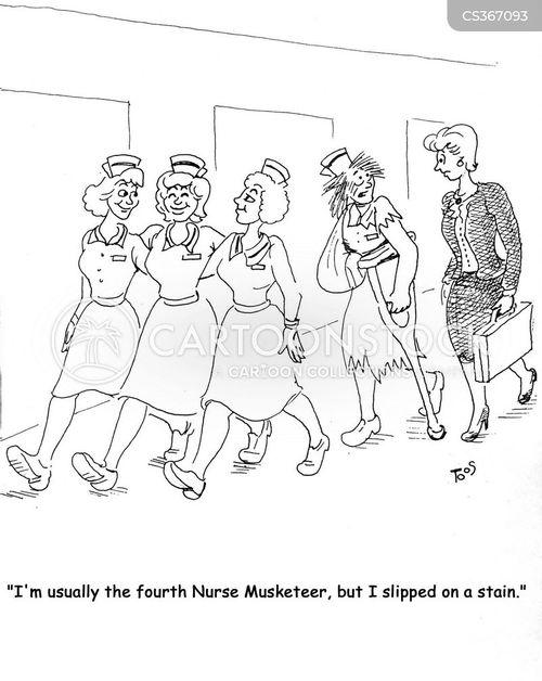 muskateers cartoon