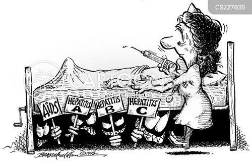 hepatitis cartoon