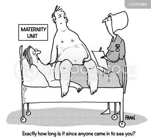 maternity units cartoon