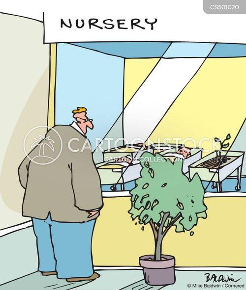 garden shop cartoon