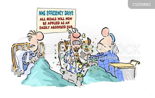 Image result for nhs efficiency cartoon