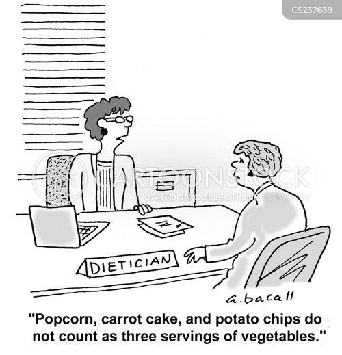 potato chip cartoon