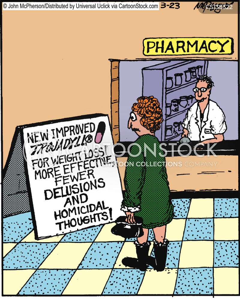delusions cartoon