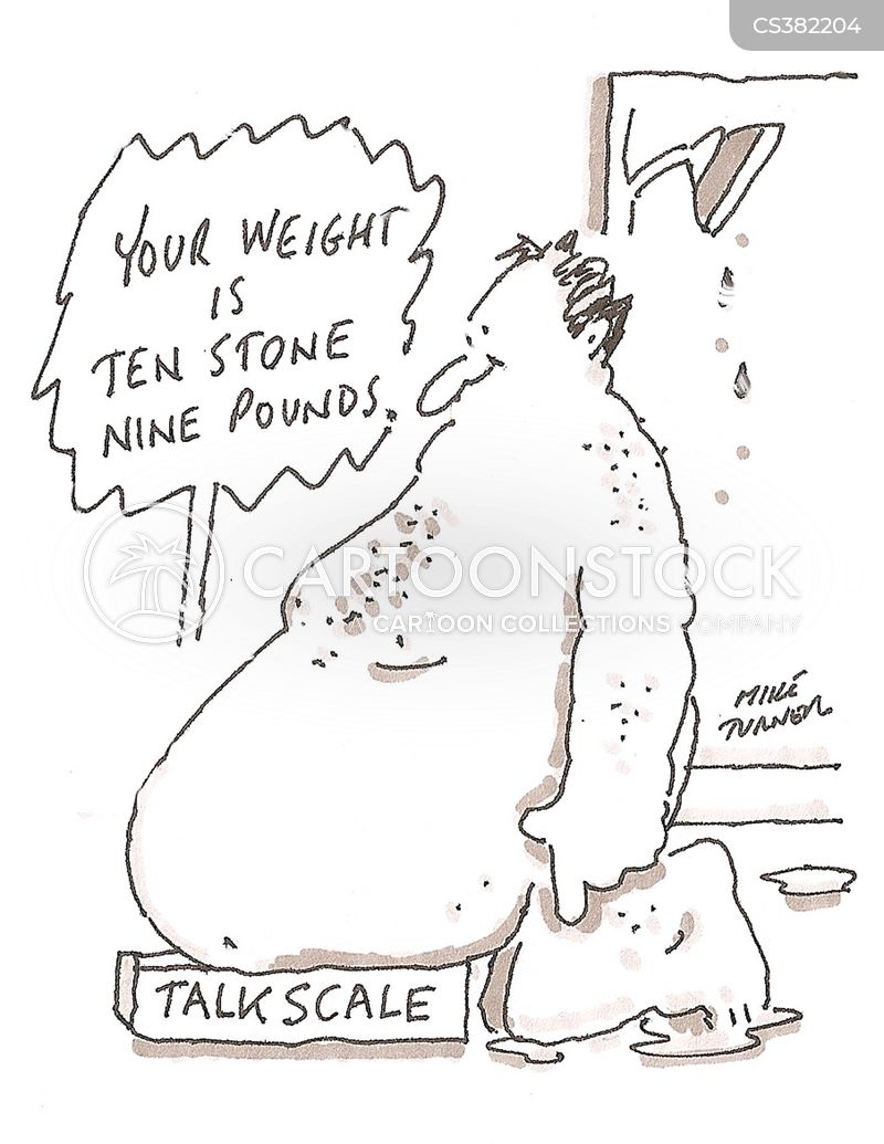 morbidly obese cartoon