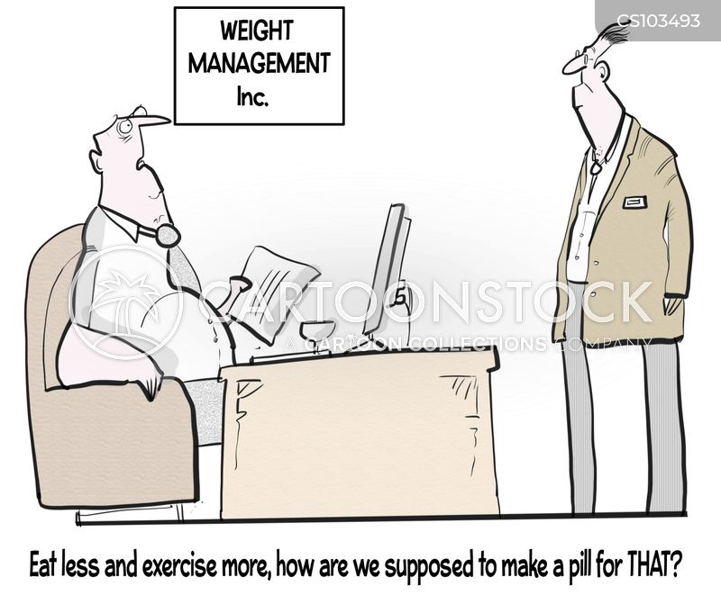 diet pills cartoon