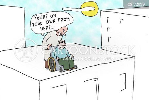nursing homes cartoon