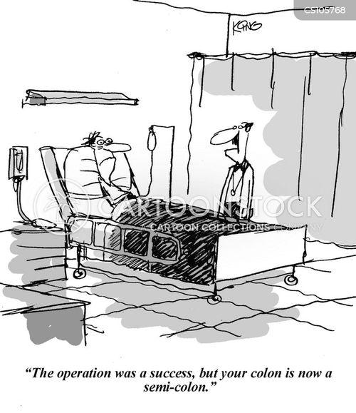 colon cartoon