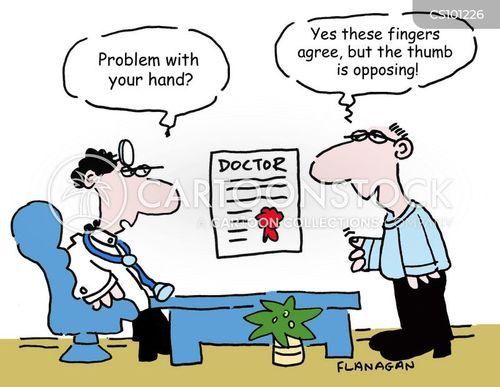 thumbs cartoon