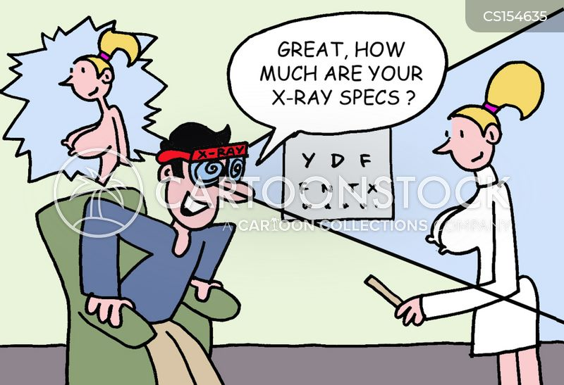 x-ray specs cartoon