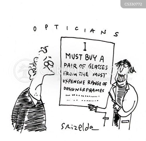 lenses cartoon