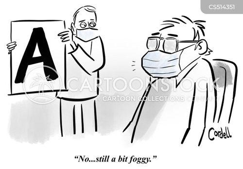 foggy cartoon