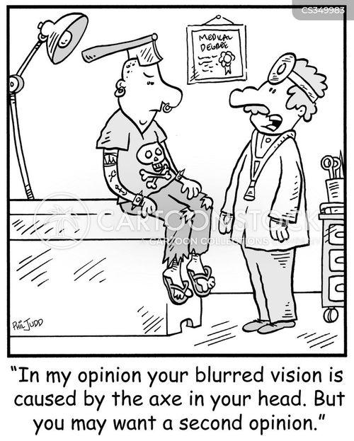 neurological cartoon