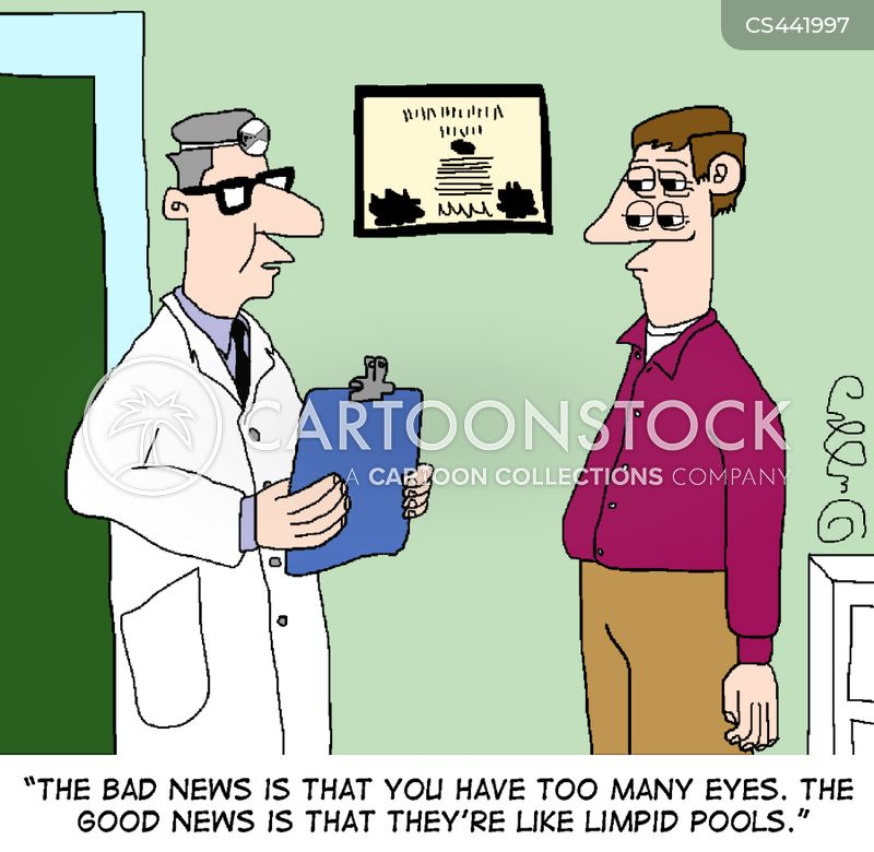 vision test cartoon