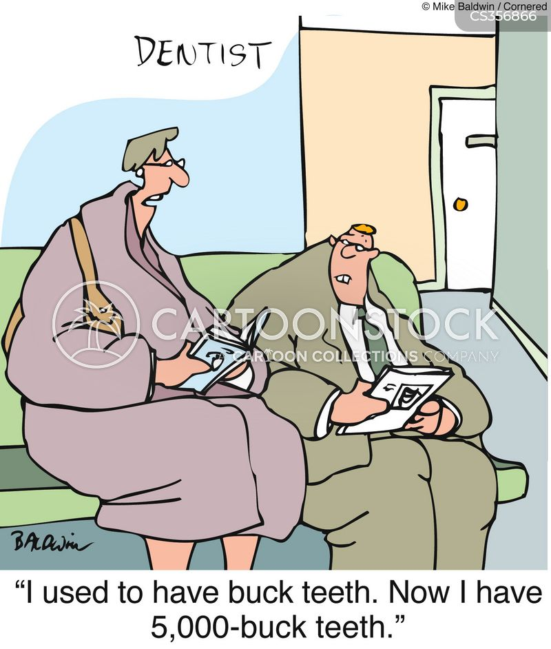 buck teeth cartoon