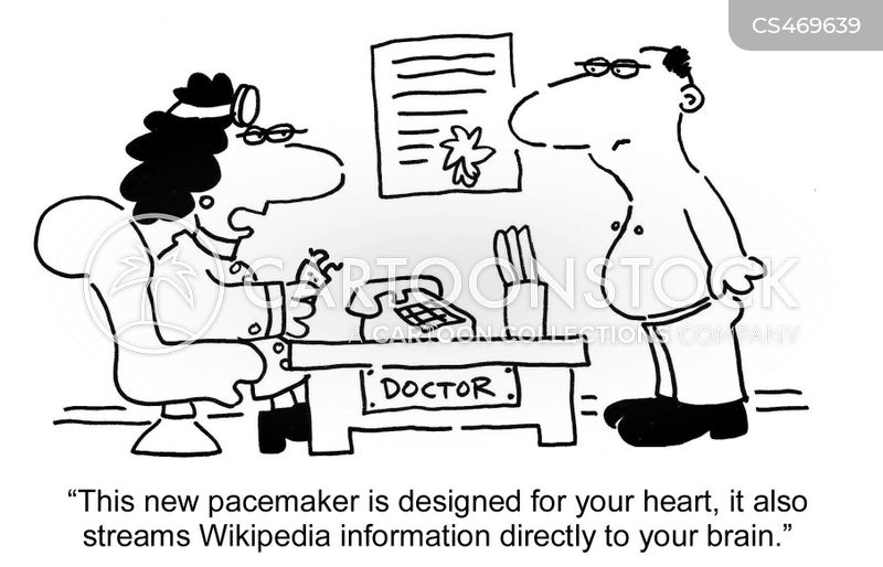medical technology cartoons and comics