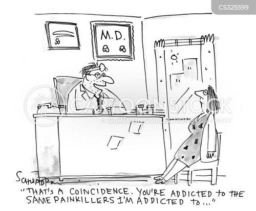 pain-killer cartoon