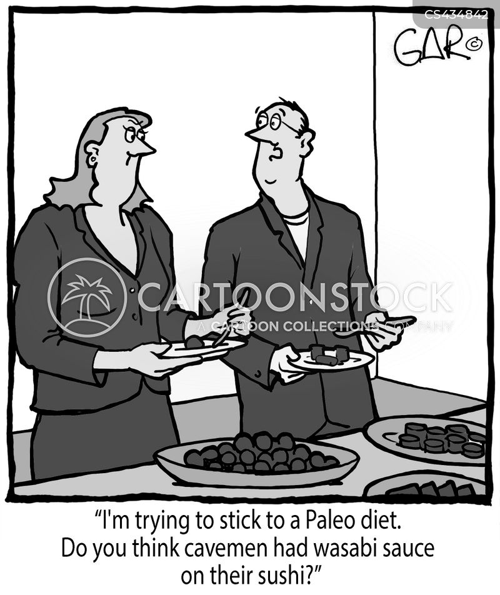 paleo diet cartoon