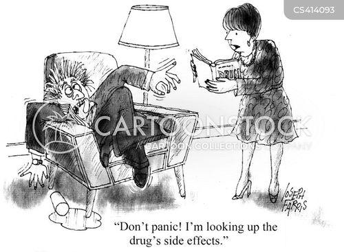 panic attacks cartoon