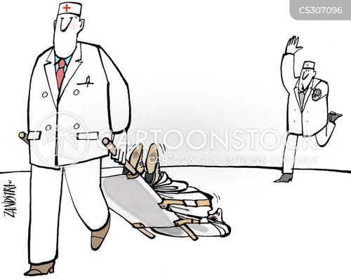 hospital porter cartoon