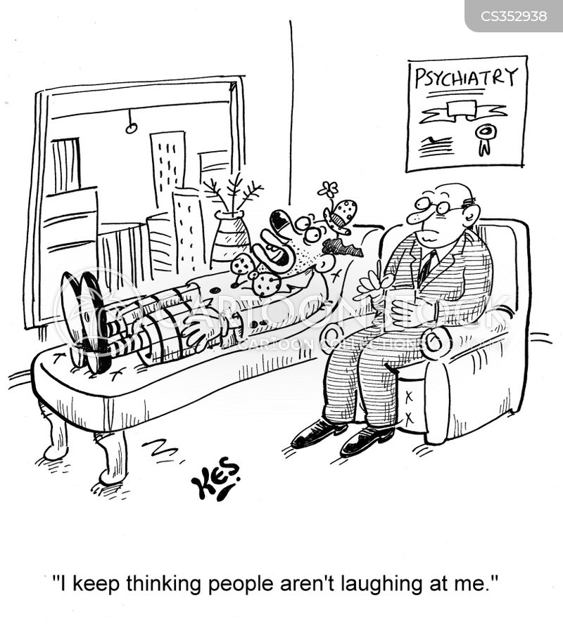 being laughed at cartoon
