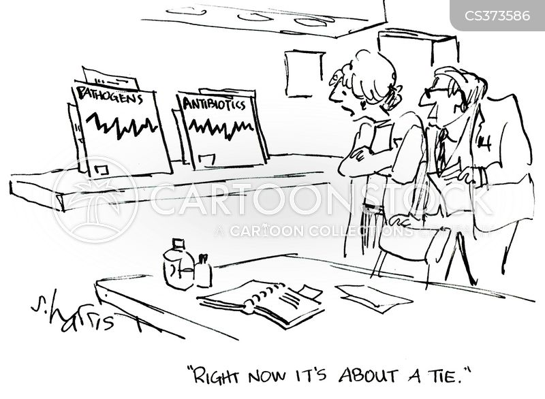 pathogens cartoon