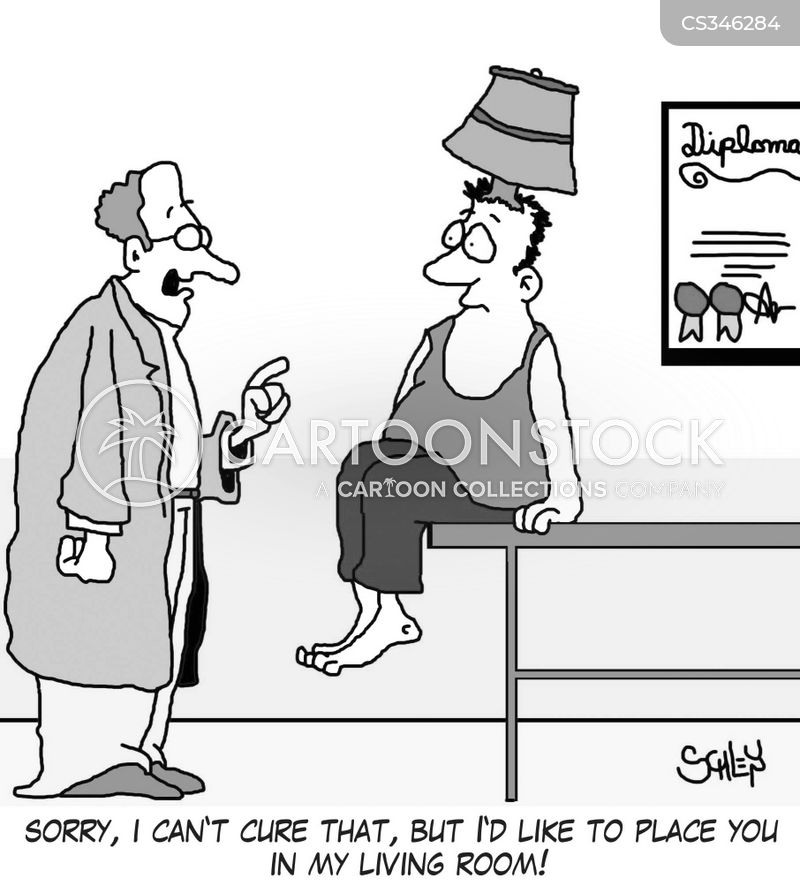 medical complaint cartoon