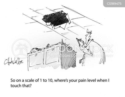 pain threshold cartoon