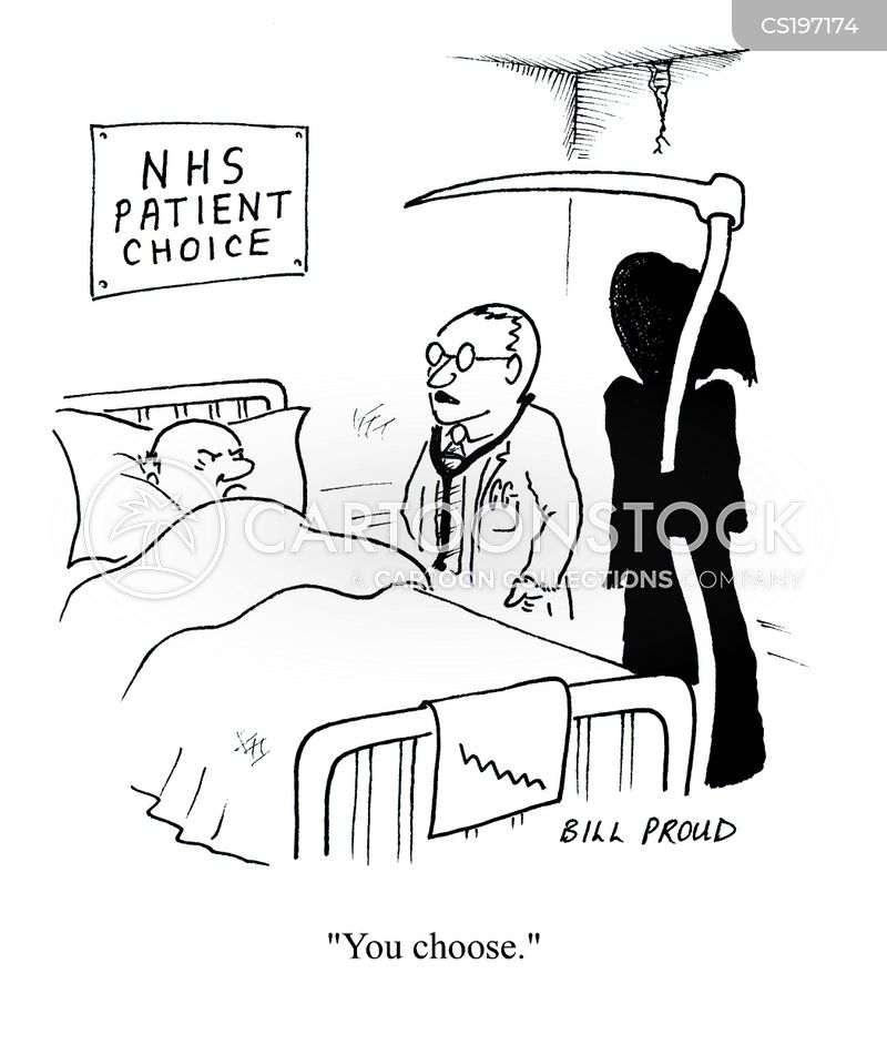 Patient Choice Cartoons and Comics - funny pictures from ...
