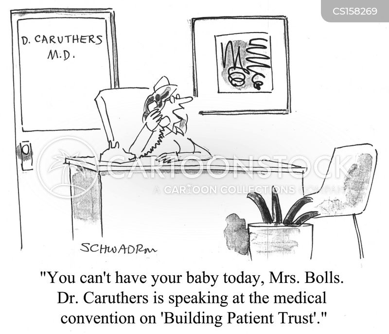 doctor-patient relations cartoon