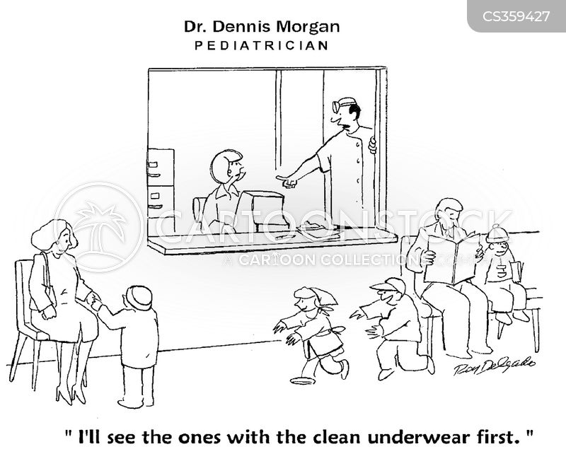 clean underwear cartoon