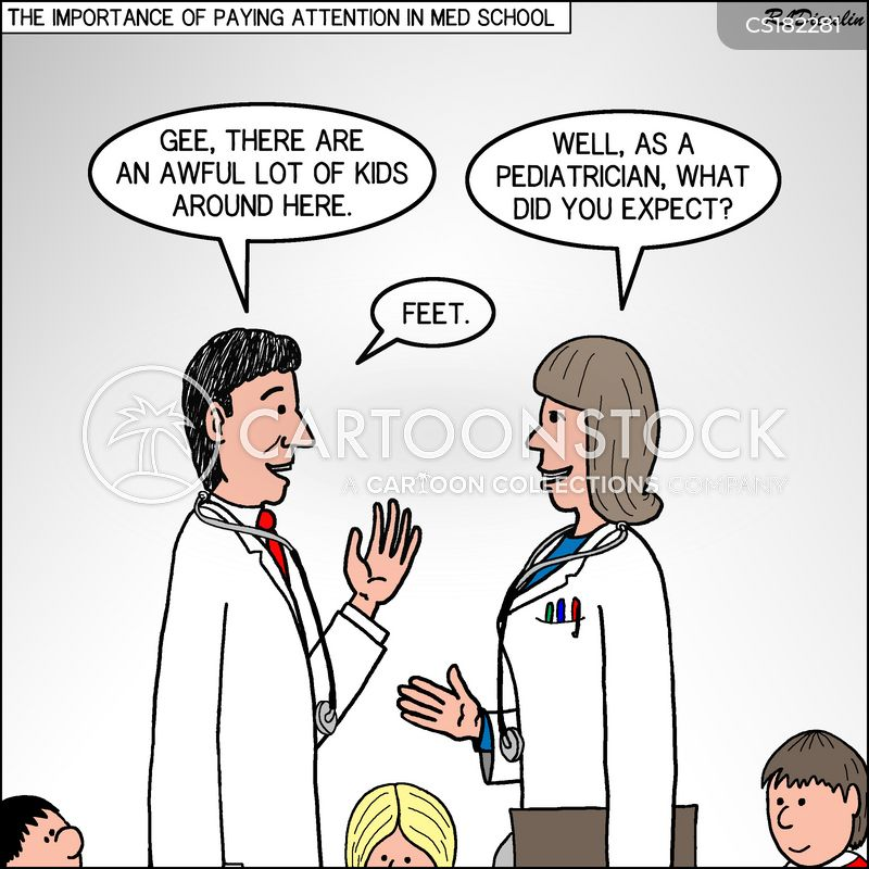 pediatricians cartoon