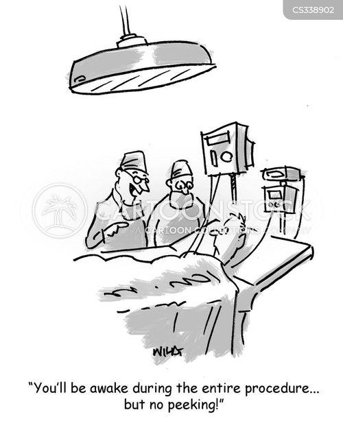general anaesthetics cartoon