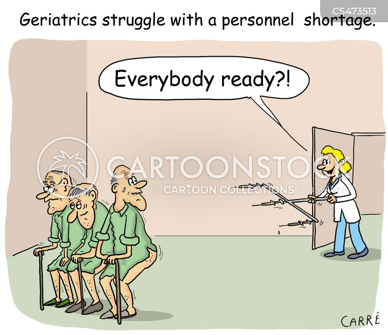 geriatricians cartoon