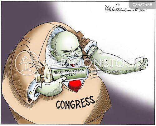 money in politics cartoon