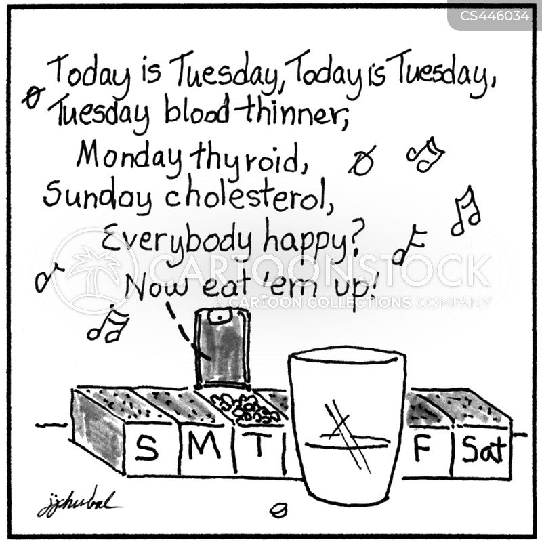 medicates cartoon