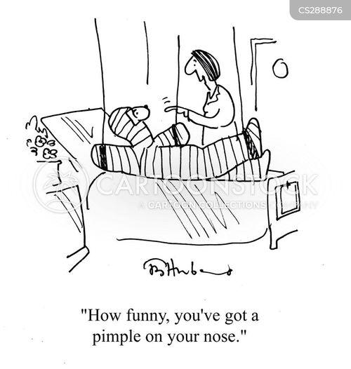 acnes cartoon