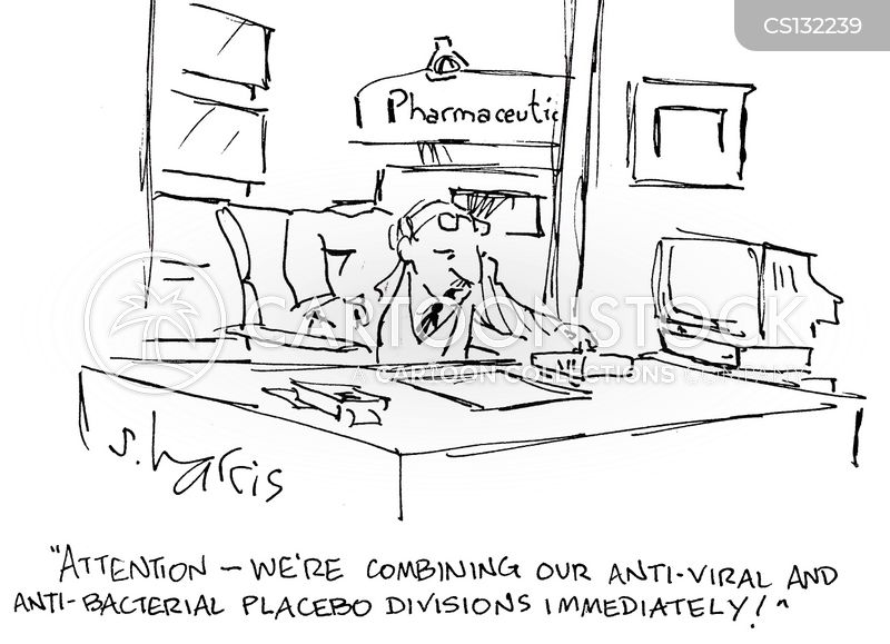 anti-bacterial cartoon