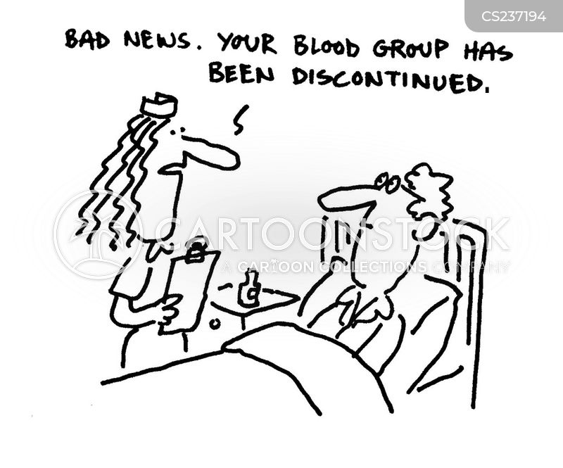 blood group cartoon