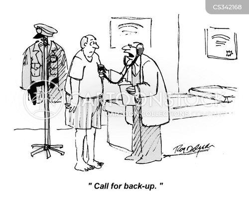 back-ups cartoon