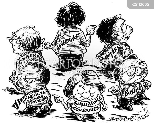 health care providers cartoon