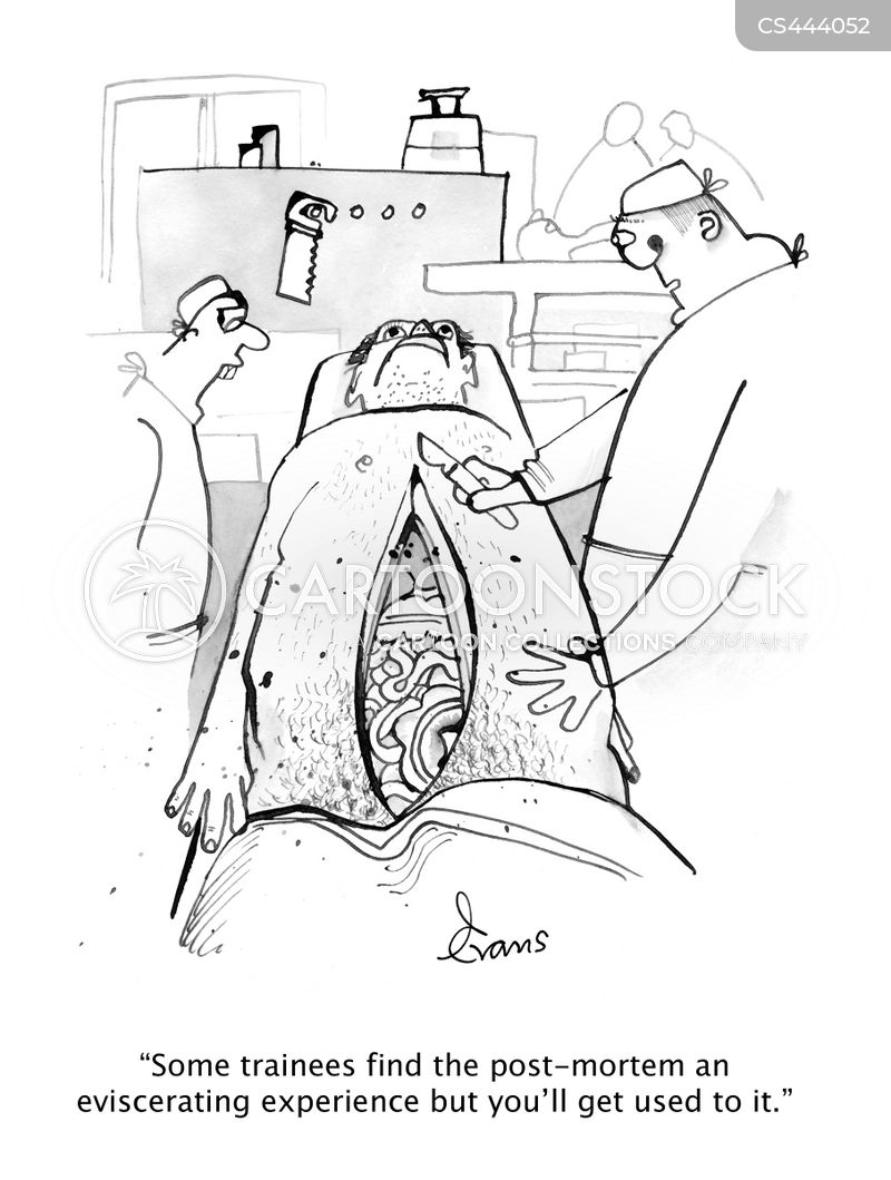 autopsies cartoon