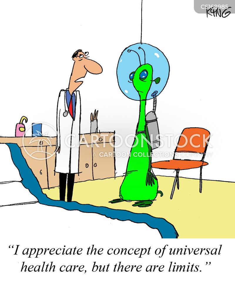 universal healthcare cartoon