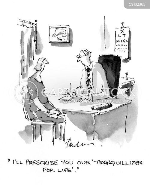 tranquillizer cartoon