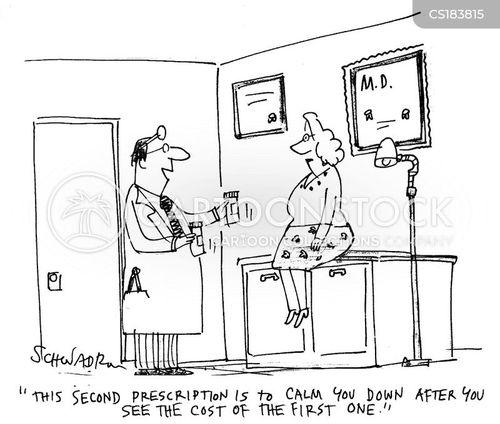 pharmaceutical companies cartoon