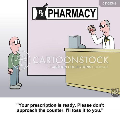 drug stores cartoon
