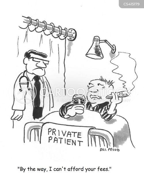 private hospital cartoon